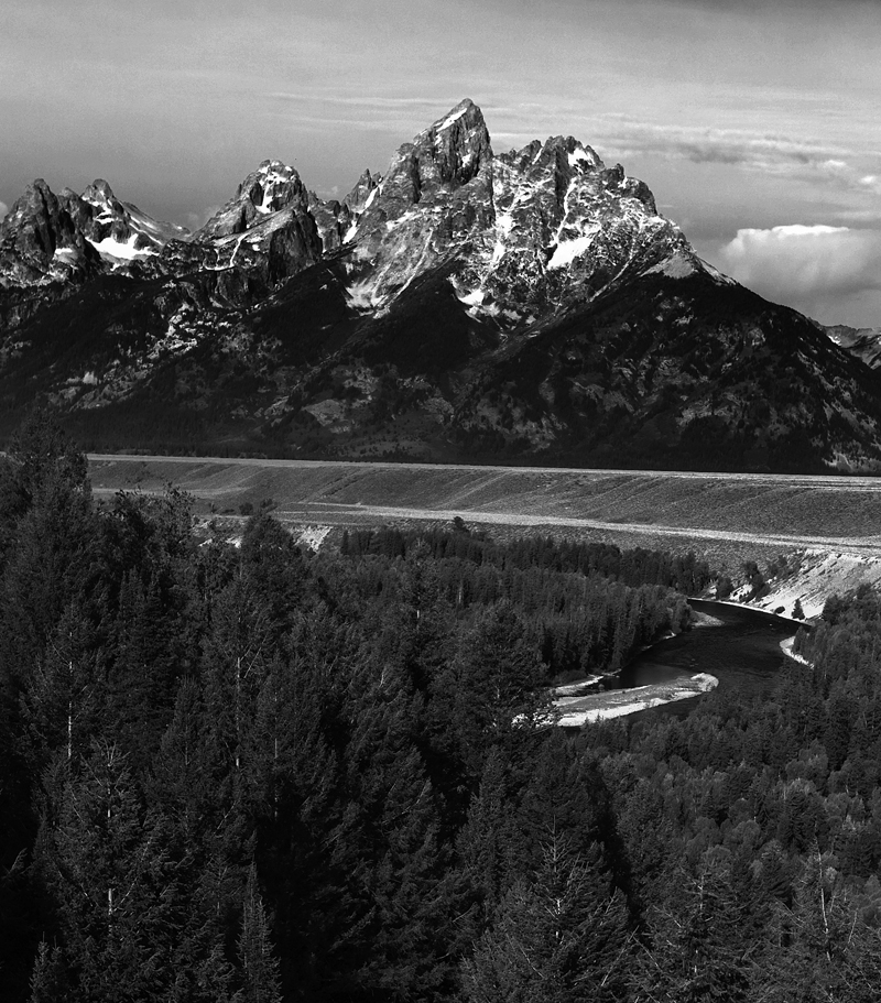 The Grand Tetons. Teton National Park outside Jackson Hole, Wyoming. 8/29/2009 Jim Urquhart/Straylighteffect.com