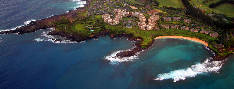 Resort on Maui's north shore. Photo by Jim Urquhart/Straylighteffect.com